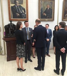 Prince WIlliam and Duchess Catherine at US Embassy