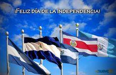 Cinco países centroamericanos celebran su independencia.