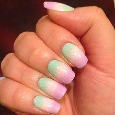 #ombre #ombrenails #naturalnails #nails #nailsart #nailsidea #gradient #gradientnails #Padgram