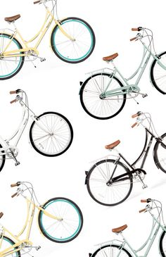 Pure City Cycles Giveaway! / via Justina Blakeney