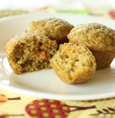 fruit and veggie muffin: boys loves these and of course I changed it up with less sugar...couldn't tell :)