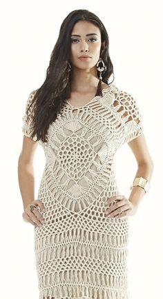 vestidos tejidos a crochet - Google Search