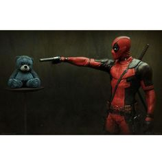 Deadpool Movie I Don't Do Cute Gallery Print