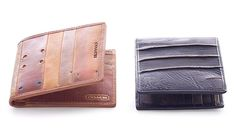 Coach Vintage Baseball Glove Billfold.  Like a baseball glove, these are supposed to get better with time.  Brilliant.