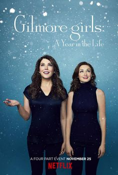 Netflix Shares Official Gilmore Girls: A Year in the Life Posters of Our Favorite Stars Hollow Duo