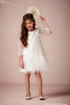 BHLDN Launches a Flower Girl Dress Collection