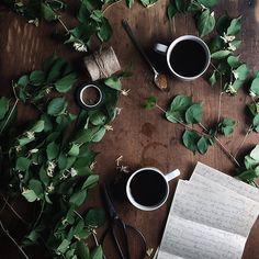 Coffee and twine.
