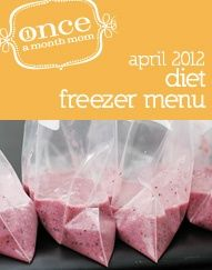 Diet April 2012 Menu oamc-once-a-month-cooking