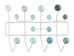 To celebrate Ray Eames 100th Birthday. Eames 'Hang It All' coat rack released in new colours through Vitra.