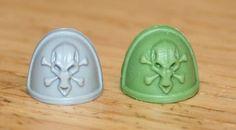 Green Stuff Cast Shoulder Pad