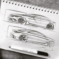 "308 Likes, 7 Comments - 耐克 (@fran.909) on Instagram: ""#sketch #sketchbook #cardesign #carsketch #cars #kia"""