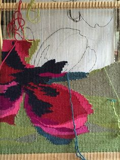 Image result for mini tapestries weaving