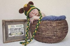 "Say hello to baby Briles Baer! (Yes that's his real name, and yes that's pronounced ""bear."") #SoMuchSicEm"