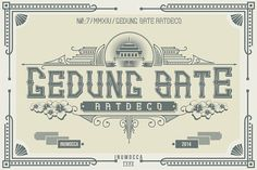 Gedung Sate Artdeco on Behance