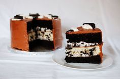 Triple Layer Oreo Cake- if short on time, box mixes for the cake would be fine, but make the icings!!! So good!!!