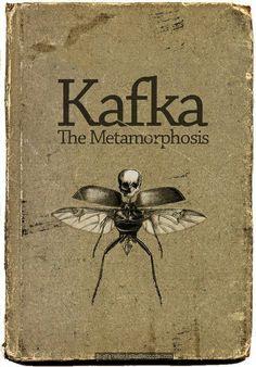 Kafka - Metamorphosis - old book cover