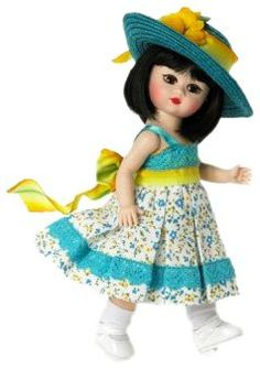 Madame Alexander 8 Inch Americana Collection Doll - Sweet Sunflower