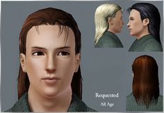 Emma's Simposium: Free Hair Pack #118 By Rose Sims3 - Donated/Gifted!!!