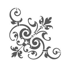 Corner Stencil Reusable Template Simone for Wall DIY decor Preciousitems http://www.amazon.com/dp/B00P0DC5RS/ref=cm_sw_r_pi_dp_p-kxub0FM2NVP