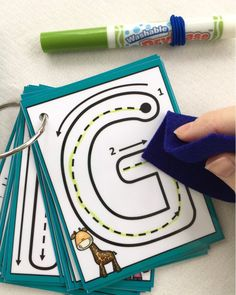 Uppercase Little Letters Clip Cards Dry erase alphabet flash cards laminated trace busy bags formations key ring learn to write Toddler Learning, Preschool Learning, Learning Activities, Preschool Activities, Preschool Letters, Fitness Activities, Preschool Tables, Fitness Games, Kids Fitness