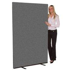 Details About New Office Screens Parions Room Dividers 1500mm Wide X 1800mm High Grey