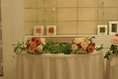 テディベアとウエディングドレス 横浜国際ホテル様へ : 一会 ウエディングの花