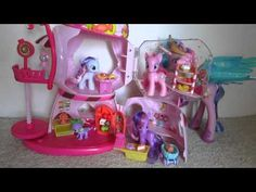My Little Pony Friendship is Magic Sweetie Bell's and Rarity's Gumball House Toy Figure