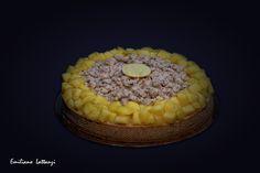 La mia Milano - Mango, riso e zafferano - Crostate, G. Fusto  Frolla alle nocciole Biscotto amaretto alle nocciole Namelaka Ivoire Riso allo zafferano Streusel alle nocciole Mango