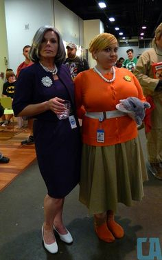 Halloween Costume! Mallory and Pam for ARCHER!!!