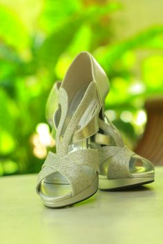 Silver High Heels #Love it#