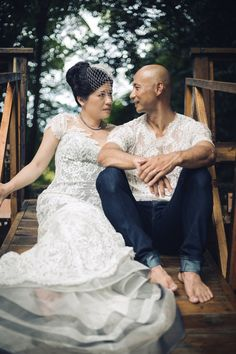 June & Timothy  Dress: June  http://www.augustajones.com/posts/263-June%20&%20Timothy www.AUGUSTAJONES.comJune+&+Timothy