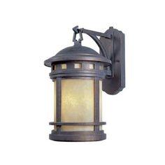 Designers Fountain Mesa Collection 3-Light Mediterranean Patina Outdoor Wall-Mount Lantern-HC0476 - The Home Depot