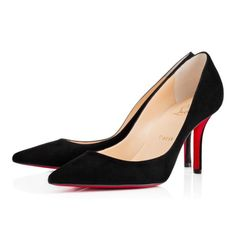 Chaussures femme - Apostrophy Pump Suede - Christian Louboutin