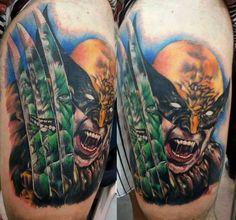 Wolverine #Tattoo by Clayton Dias #Xmen #tattoos #Inked