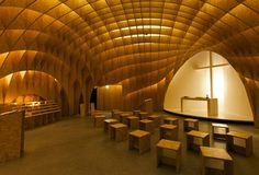 3-D Translation of Architecture creates Autobahn Chapel 7