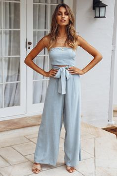 Hot Sale 2019 Summer Fashion Women Solid Bow-Knot Jumpsuit Lace Up Strapless Playsuit Hollow Out Backless Rompers Olive Jumpsuit, Jumpsuit With Sleeves, Summer Jumpsuit, Short Jumpsuit, Long Jumpsuits, Playsuits, Evening Jumpsuits, Rompers Women, Jumpsuits For Women