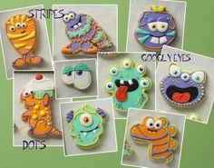Monster Cookies from any Cookie Cutter | Klickitat Street