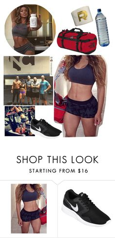 """""""Izzy ~ Training/Crossfit before Hell In A Cell with Seth,Cesaro and two of their Crossfit partners"""" by swaggwweforever ❤ liked on Polyvore featuring NIKE and The North Face"""