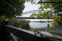 Deventer Wilhelmina brug. Opgeblazen in de tweede wereldoorlog. Weer herbouwd