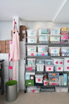 Chic Home Office Organization