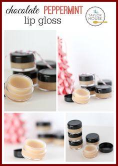 DIY Chocolate Peppermint Lip Gloss - The Taylor House