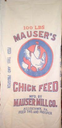 buy vintage feedsacks at this site. also vintage fabrics, tea towels, and aprons.