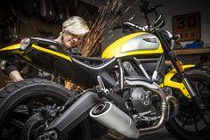 Motorcyclist Magazine + Motolady Ducati Scrambler – Moto Lady