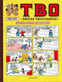 TBO 1962-1963 (Incluye cuatro almanaques).    Contenido:  Almanaque humorístico (1962).  Almanaque TBO para 1962.  Almanaque humorístico (1963).  Almanaque TBO para 1963.