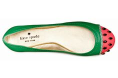 Authentic Kate Spade Watermelon Flats New w/ Box Size 7 Looks Chic, Unique Shoes, Sunglasses Case, Fashion Shoes, Kate Spade, Footwear, Pumps, Shoe Bag, My Style