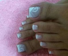 @Sully Toe Designs, Nail Art Designs, Magic Nails, Pretty Toes, Nail Decorations, Girly Things, Diy And Crafts, Manicure, Sully