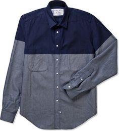 idian, Ersatz  Vanes Indigo Unwashed SEV07 Classic Pocket Shirt | Hypebeast Store