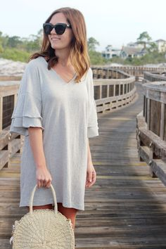jillgg's good life (for less) | a west michigan style blog: my everyday style: a beachy dress!