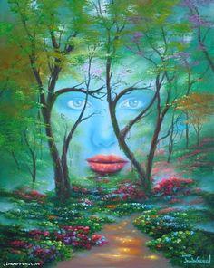 Natures Eyes by Jim Warren