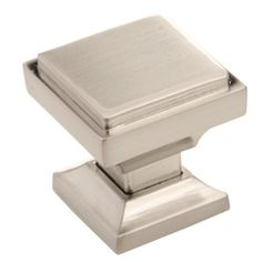 southern hills brushed nickel square cabinet knobs pack of 5 kitchen cabinet knobs